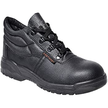4bc579abda7c Portwest Mens Steelite Protector S1P Safety Boot Shoes FW10 Black 10 UK, 44  EU - EN safety certified