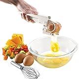 Mezzotek Handheld Egg Cracker Separator ...