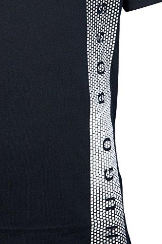 Hugo Boss T-Shirt RN Sun Protection Slim Fit Black (007)