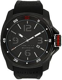 Tommy Hilfiger Analog Black Dial Men's Watch - NATH1790708