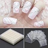 iDealhere 30sheets Verschidenen Farben 3D Lace Blume Nail Art Sticker Kunst...