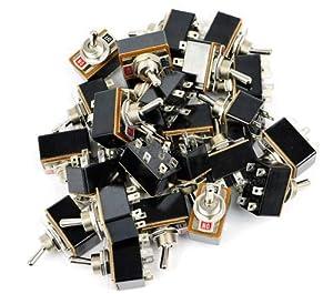 Gaugemaster BPGM504 DPDT Toggle Switches (25)
