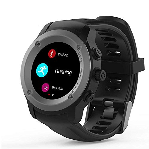 NUOII Bluetooth Smart Sports Bracelet with Heart Rate Monitor, Sport Step Counter, for Android and IOS with GPS, with Power Bank (Counter-bank)