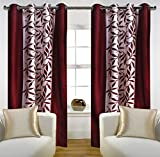 #4: Home Candy Eyelet Fancy Polyester 2 Piece Door Curtain Set - 84