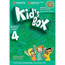 Kid's Box Level 4 Teacher's Resource Book with Audio CDs (2) Updated English for Spanish Speakers Second Edition  - Pack de 3 libros - 9788490369463