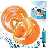 AGPTEK Kinder Schwimmflügel, Sicherheits Schwimmhilfe mit DREI-Kammersystem für Kleinkinder und...