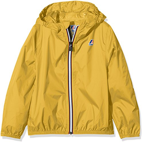 K-Way Jungen Trenchcoat Jacke Gelb Giallo (Yellow Mustard) 104 cm