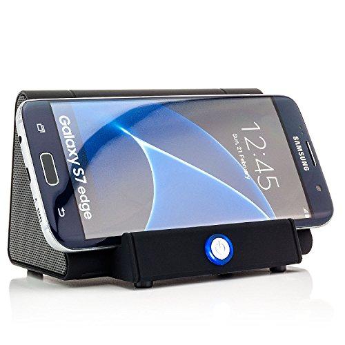 Saxonia Altoparlante induzione Magic Boost Wireless Speaker 3W | senza Bluetooth Nero