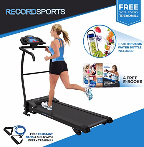 51VIiNjAwpL - BEST BUY #1 RECORD SPORTSTM XTREME-PROTM TREADMILL - Motorised Folding Exercise Machine Reviews and price compare uk