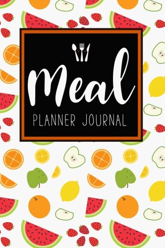 Meal Planner Journal: 52 Week Meal Prep Book Weekly Menu Food Planners & Shopping List Journal Diary Log Notebook Size 6x9 Inches 104 Pages: Volume 2 (Food Planners Journal) por Michelia Meal Planner