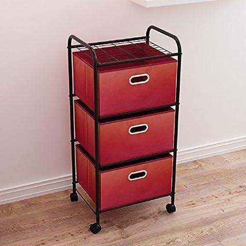 Facil cajón armarios de almacenamiento caja de almacenamiento storage rack shelf