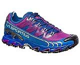 La Sportiva Ultra Raptor Woman, Zapatillas de Trail Running para Mujer, (Purple/Marine Blue 000), 41.5 EU