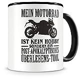 Samunshi Mein Motorrad ist kein Hobby Tasse Kaffeetasse Teetasse Kaffeepott Kaffeebecher Becher