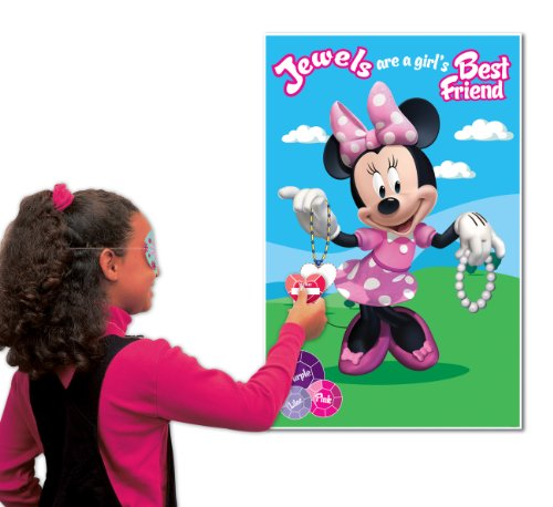 Image of Amscan Disney Minnie Mouse Party Game, Pink
