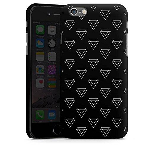 Apple iPhone SE Housse Outdoor Étui militaire Coque Triangle Triangle Triangle CasDur noir