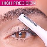 Sampri Eyebrow Bikini Electric Trimmer Hair Removal for Women
