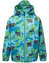 Kozi Kidz Children's Vinga Animal Camo Rain Jacket