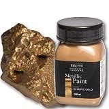 Olympic Gold Metallic Paint 100ml Modern Masters Metalleffektfarbe Metallfarbe