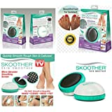 Ezlife - Skoother Skin Smoother and Callus Remover for - Knees - Feet - Elbows - Hands and Quickly Smooth Rough Skin Calluses
