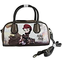Betty Boop Train Borsa Donna Bauletto a Mano Spalla Tracolla
