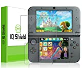 Nintendo 3DS XL Screen Protector, IQ Shield® LiQuidSkin Full Coverage Screen Protector for Nintendo 3DS XL (Nintendo 3DS LL,2015) HD Clear Anti-Bubble Film - with Lifetime Warranty by IQShield
