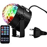 Bola Discoteca Luces de Etapa Luz Discoteca 7 Colores RGB LED Luces Disco, Bar, KTV, Fiesta, Club