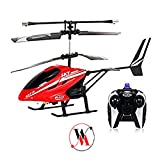 #3: V-Max Hobnot HX-713 Radio Remote Controlled Helicopter with Unbreakable Blades - Multi Color