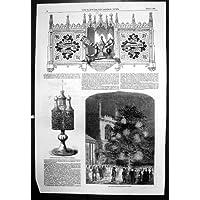 Stampa Antica della Festa Nel Museo Crismale