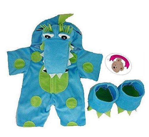 build-your-bears-kleidung-fur-teddybaren-38-cm-drachen-motiv-blau