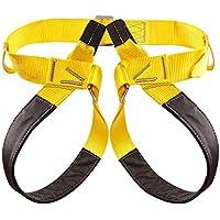 COUYY Arnés de Escalada Asiento de la Cintura Cadera Protección Mitad de cinturón de Seguridad cinturón Cuerpo Escalada Escalada Árbol