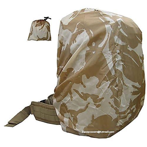 Rucksack Rain Army Camo Waterproof Bag Military Cover Backpack Desert Sand Combat Camo