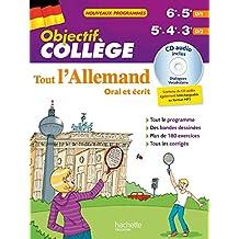 Objectif Collège - Tout l'Allemand 5e - 4e et 3e