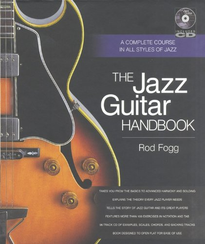 The jazz guitar handbook guitare+CD (Handbook Series)