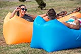 Inflatable Lounger,Ariel-gxr Air Sleeping Sofa Bed Couch Chair, Air Mattresses Beds,Air Filled Balloon Bag Furniture for Indoor/Outdoor Hiking Camping,Beach,Park,Backyard Waterproof Durable,Lounging, Fishing, Kids, Chilling, Parties, Swimming Pools