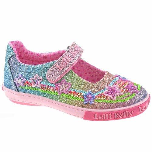 LELLY KELLY bébé sneakers bas LK4808 EMILY WHITE / SILVER taille 28 Bianco argento gR9DT7