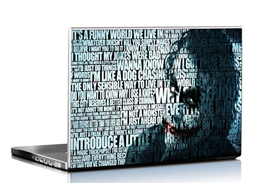 Pixelartz Hd Dark Knight Joker Laptop Skin 15 6 Inch For Dell
