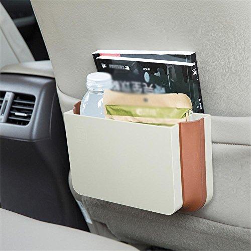 ALUK- Prodotti automobilistici - tronco scatola di immagazzinaggio multiuso vano portaoggetti (25 centimetri * 16cm * 8cm) pieghevole ( colore : Beige )