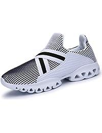 IIIIS-R Zapatos para Correr en Montaña y Asfalto Aire Libre y Deportes Zapatillas de Running Padel para Hombre Hombre Mujer Verano