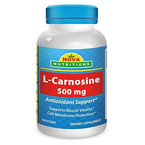 Nova Nutritions L-Carnosine 500 mg 100 Vcaps