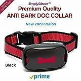 NEU Anti Bell Hundehalsband | Harmlos! | Stoppt das Bellen von Hunden Mit Ton & Vibration, Kein Schock, 7 Verstellbare Stufen-Bell! Kein Halsband für Kleine, Mittelgroße und Große Hunde. Wasserdicht.