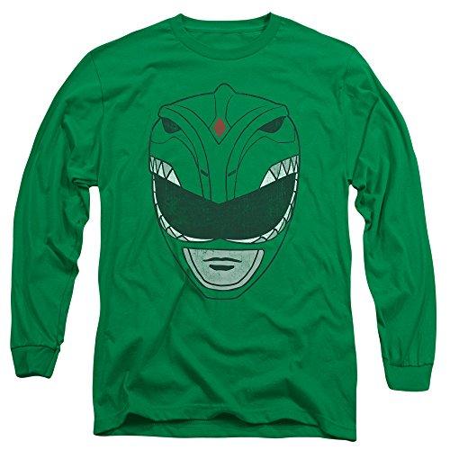 Trevco 2Bhip Erwachsene Helm Mighty Morphin Power Rangers Evil Green Ranger Tommy Helm