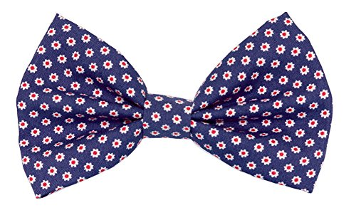 Noddy & Sweets Fliege für Hunde Halsband [Daisy navy] (Navy Daisy)