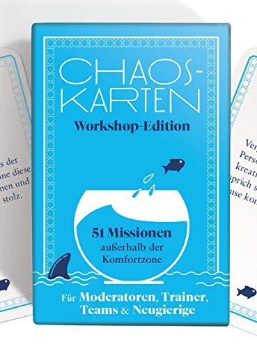 Chaoskarten Workshop Edition - 51 Missionen außerhalb der Komfortzone