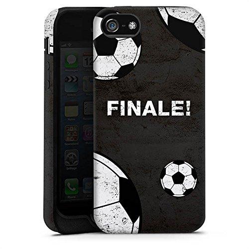 Apple iPhone 6 Plus Silikon Hülle Case Schutzhülle fussball fußball ball Tough Case matt