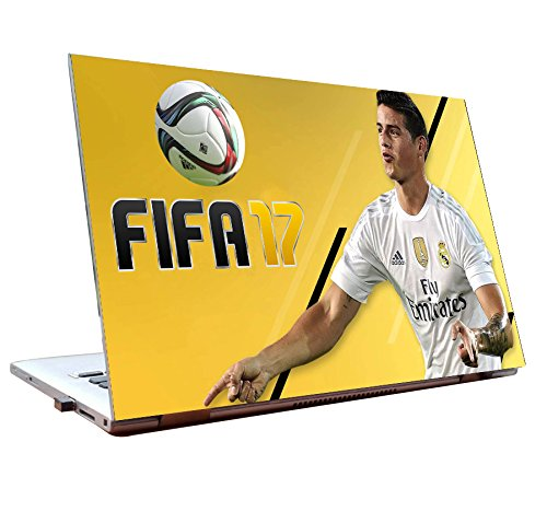 Tamatina Laptop Skin 12 inch - James - Rodríguez - Fifa - 17 - Gaming Skin - HD Quality - Dell-Lenovo-HP-Acer  available at amazon for Rs.168
