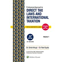Professional Approach to Direct Tax Laws and International Taxation: 2 Volumes