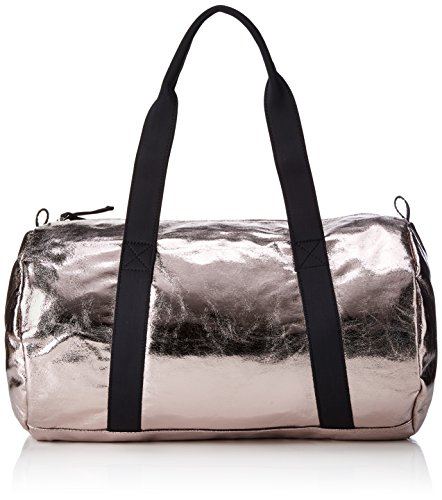 PIECES - Pcjoni Weekend Bag, Carteras de mano con asa Mujer, Silber (Silver Colour), 13x26x34 cm (B x H T)