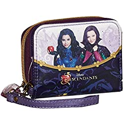 Karactermania Los Descendientes Evil Monedero, 11 cm, Morado