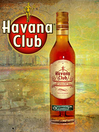 Mr.sign Havana Club Blechschilder Vintage Metall Poster Warnschild Retro Schilder Blech Blechschild Wanddekoration Malerei Bar Cafe Restaurant Garten Park (Metall-wand-kunst-wörter)
