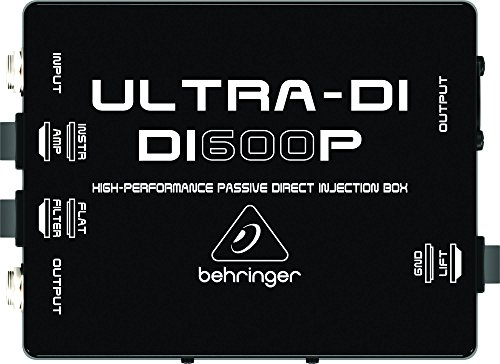 Behringer DI600P - Caja DI (pasiva) - ULTRA-DI DI600P